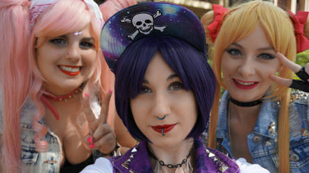 Punk Sailor Scouts by KoalaTeaTime