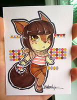 Gift: Chibi Coletee by kelly-drawsalot