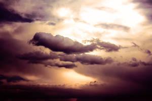 Sky In Fire 1 by pelleron
