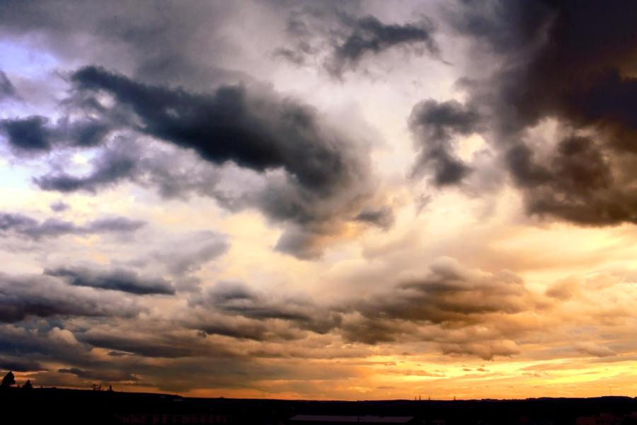 Sky In Fire 6 by pelleron