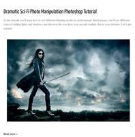 Dramatic Sci-Fi Photo Manipulation Tutorial by pelleron