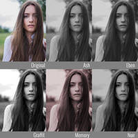 5 Dreamy Black and White Photoshop Actions
