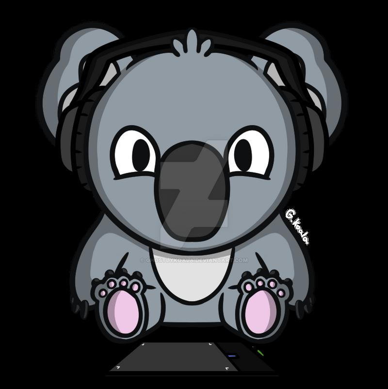 Koala Sit Chibi By Ghostlykoala On Deviantart