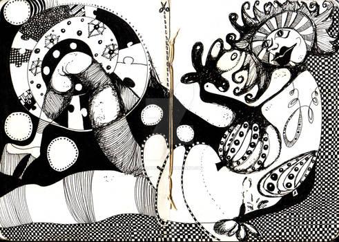 Maja black and white