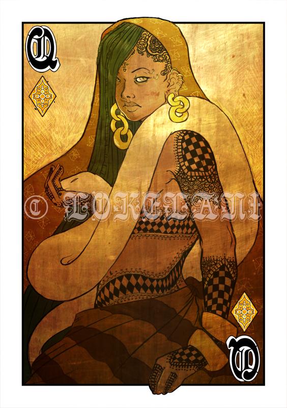 Queen of Diamonds Tattoo Opium Queen of Diamonds byQueen Of Diamonds Tattoo