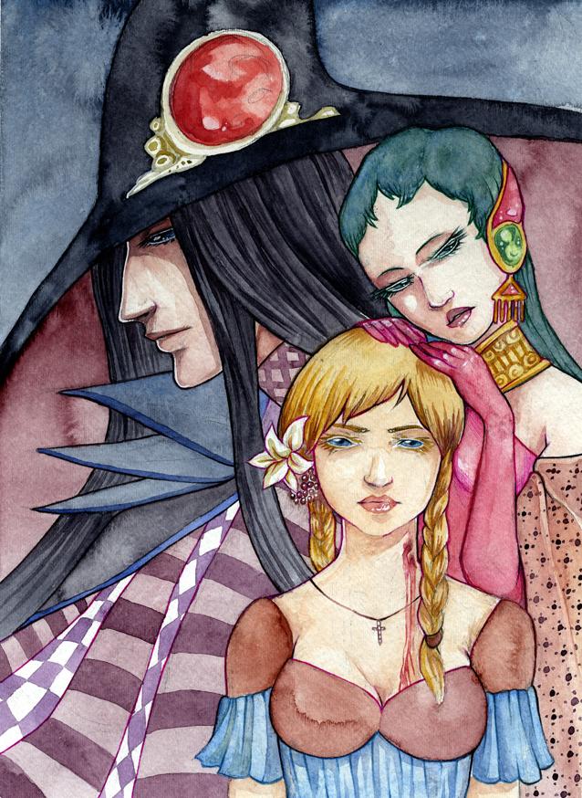Vampire Hunter D by lokelani