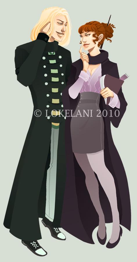 Draco Hermione - Commission by lokelani