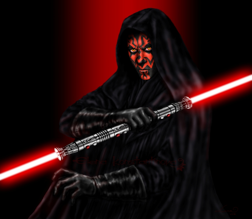 Darth Maul by legadema666