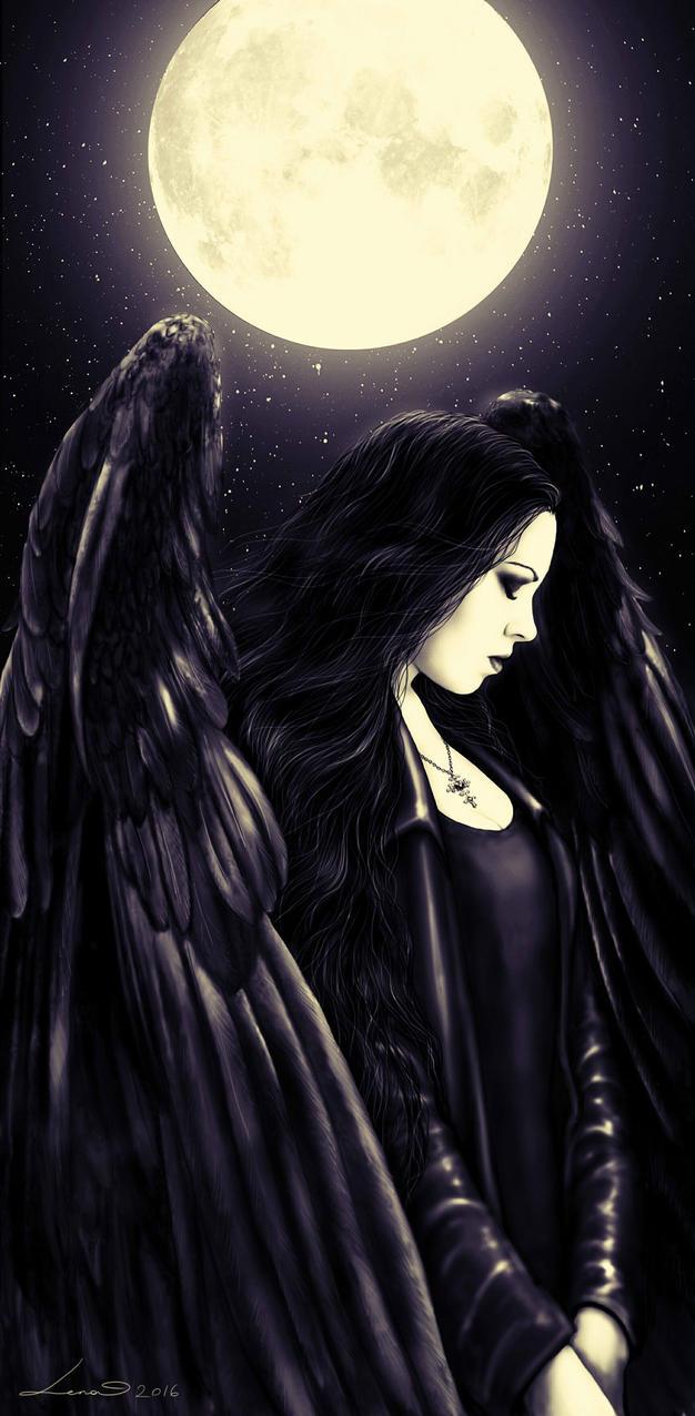 Night Angel by legadema666