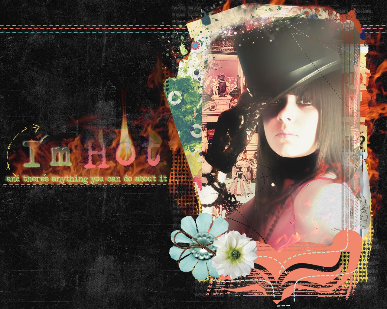Hot wallpaper by lucky lola on deviantart for Lucky lola
