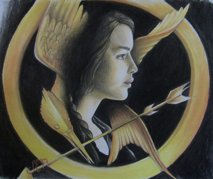 Katniss Everdeen - The Hunger Games by ShannonEM
