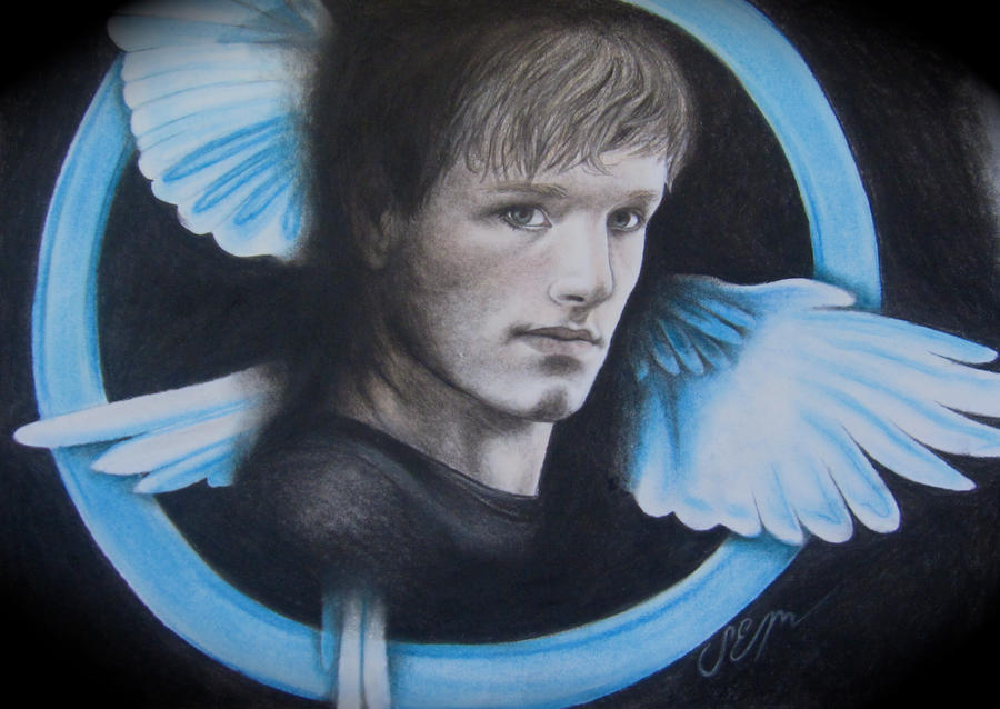 Hunger Games Peeta Drawing Peeta Mellark - The Hunger