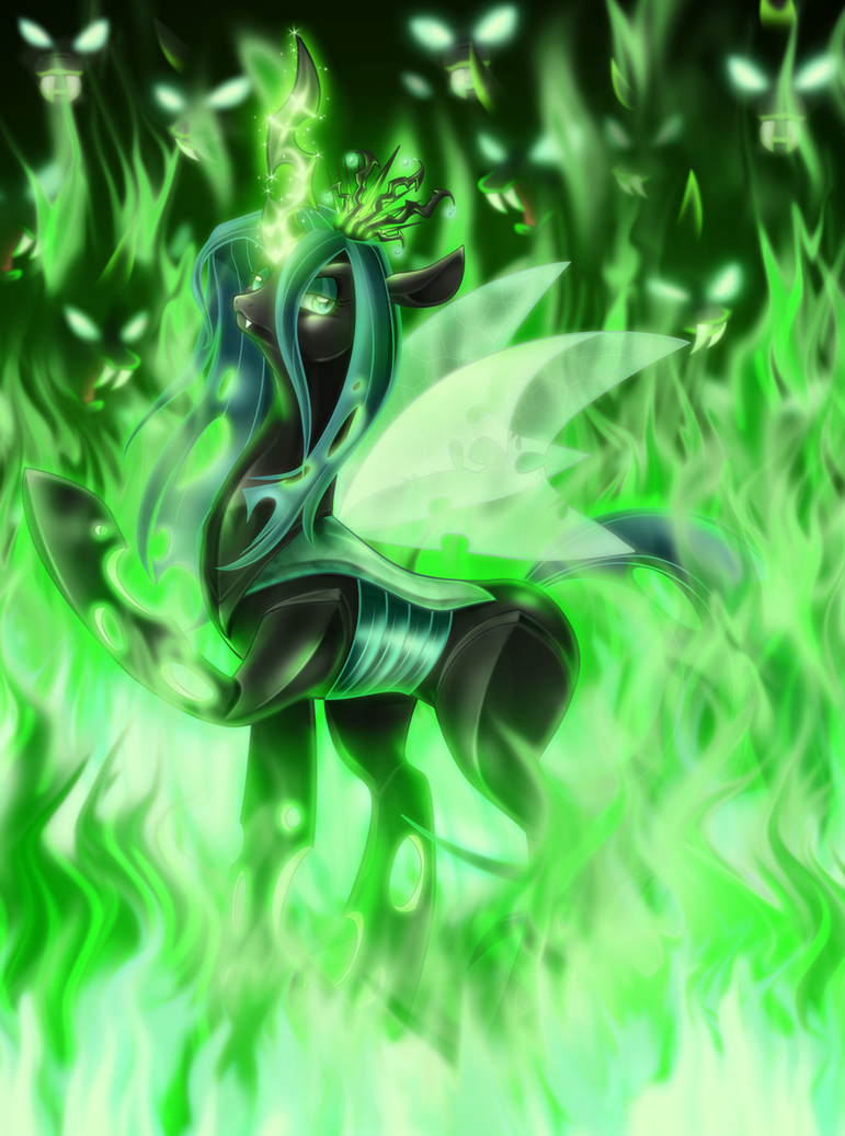 Queen of the Changelings by JaDeDJynX