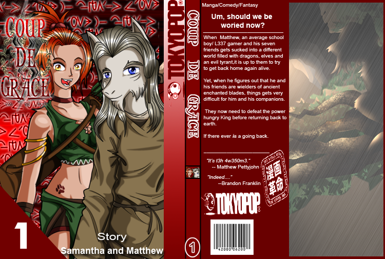 Book Cover Front And Back By JaDeDJynX