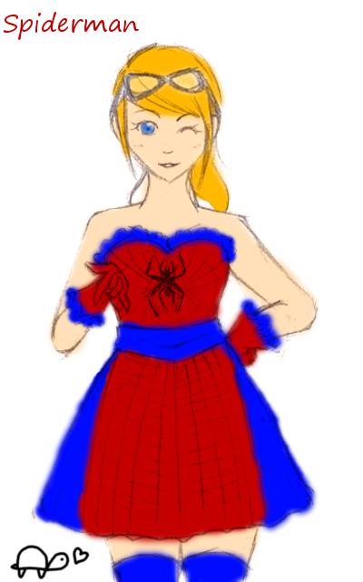 Spiderman by LeJoliCygne
