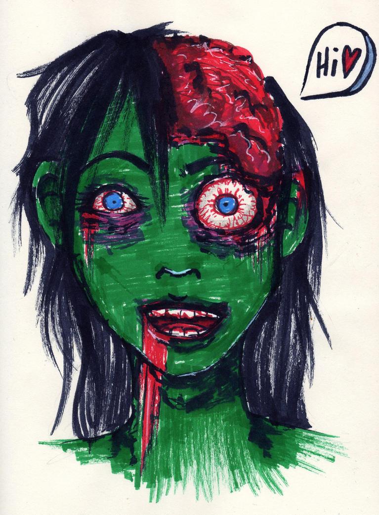 my Zombiefriend by LeJoliCygne