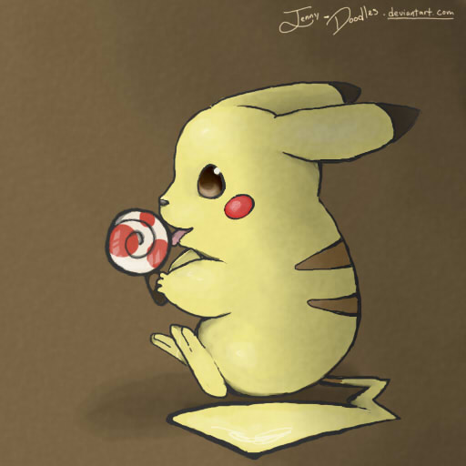 Pikachu wallpaper by Jenny-Doodles