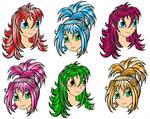 Manga Hairstyles