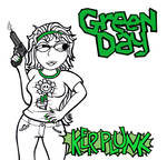 Green Day - KERPLUNK Album Cover