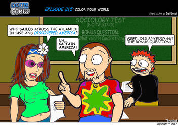 Dexter Comics Episode 215