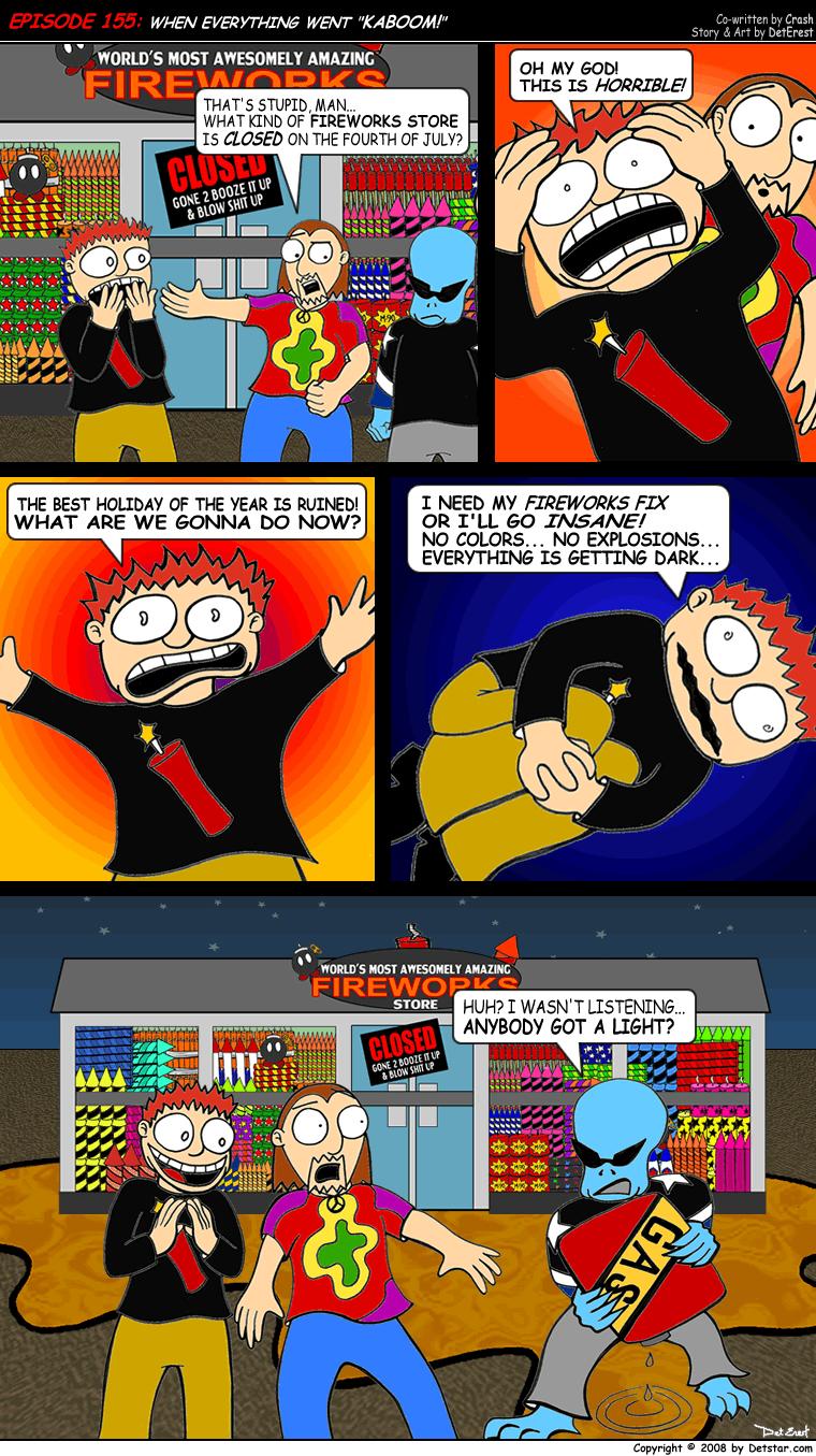 Dexter Comics Episode 155 by detstar
