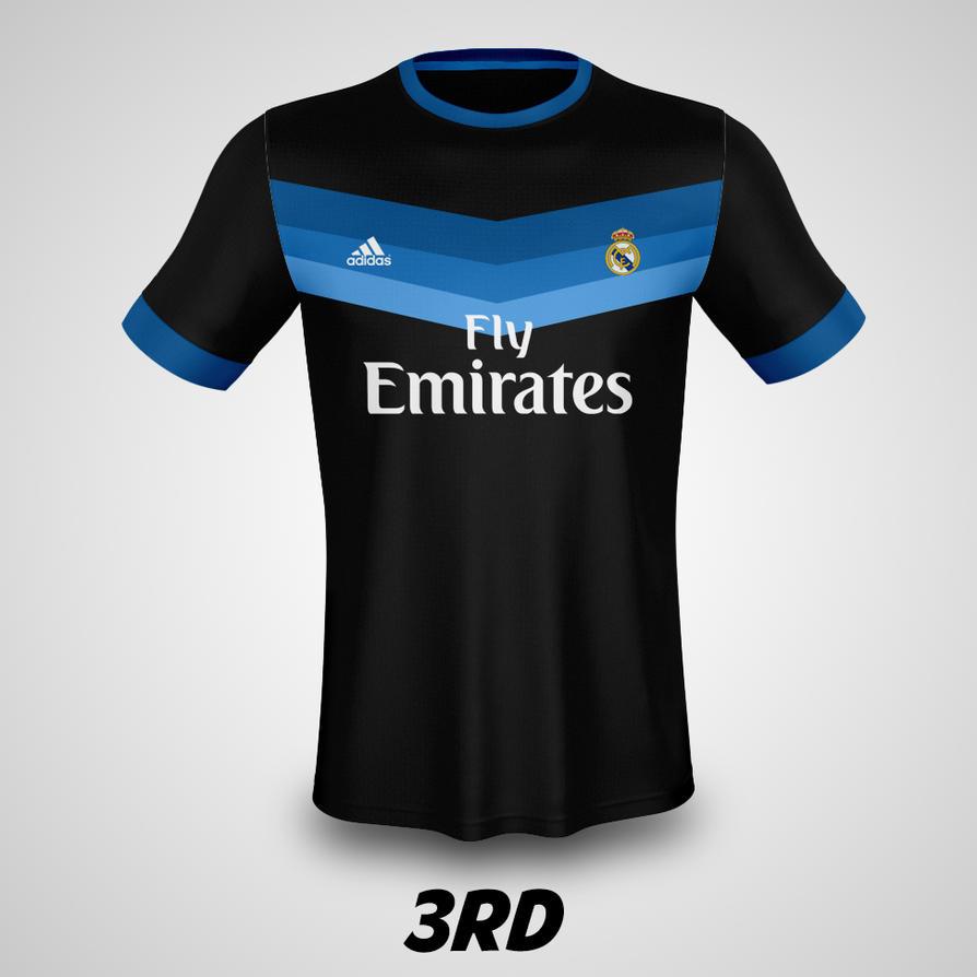 3rd Real Madrid Kit 2017 18 Fans Project Dianjay Deviantart