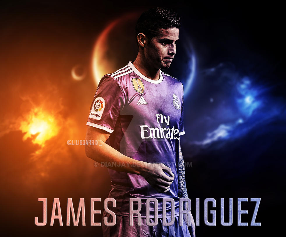 James rodriguez 2016 17 wallpaper by dianjay on deviantart - James rodriguez wallpaper hd ...