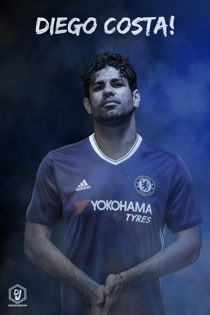 Diego Costa Chelsea FC 2016 17 Wallpaper By Dianjay