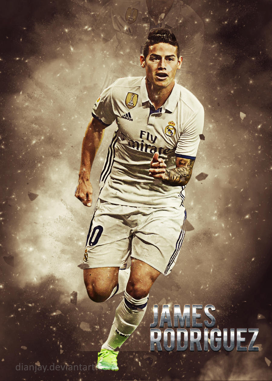 james rodriguez wallpaper real madrid 2016 17 by dianjay