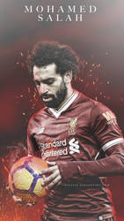 Mohamed Salah (Liverpool) Wallpaper by dianjay
