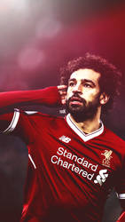 Mohamed Salah Retouching Photo by dianjay