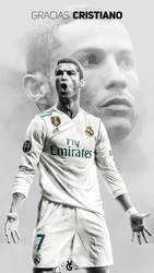 Farewell Cristiano - Real Madrid Wallpaper Phone by dianjay
