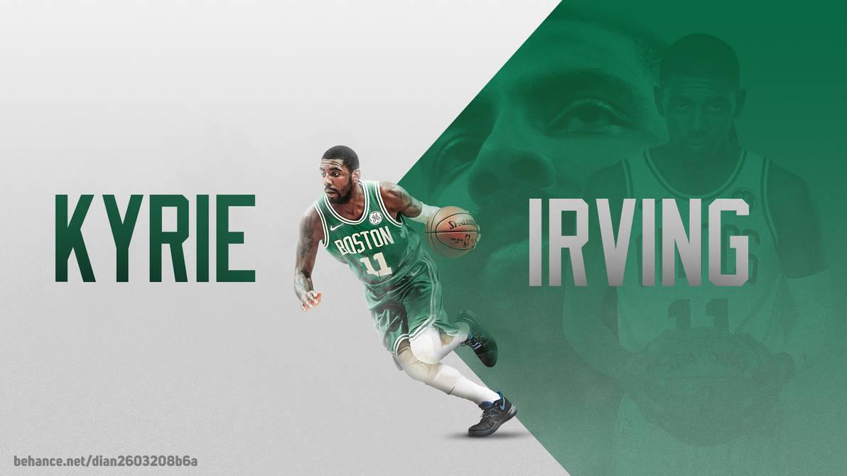 Kyrie Irving Boston Celtics NBA Wallpaper Desktop by dianjay on DeviantArt