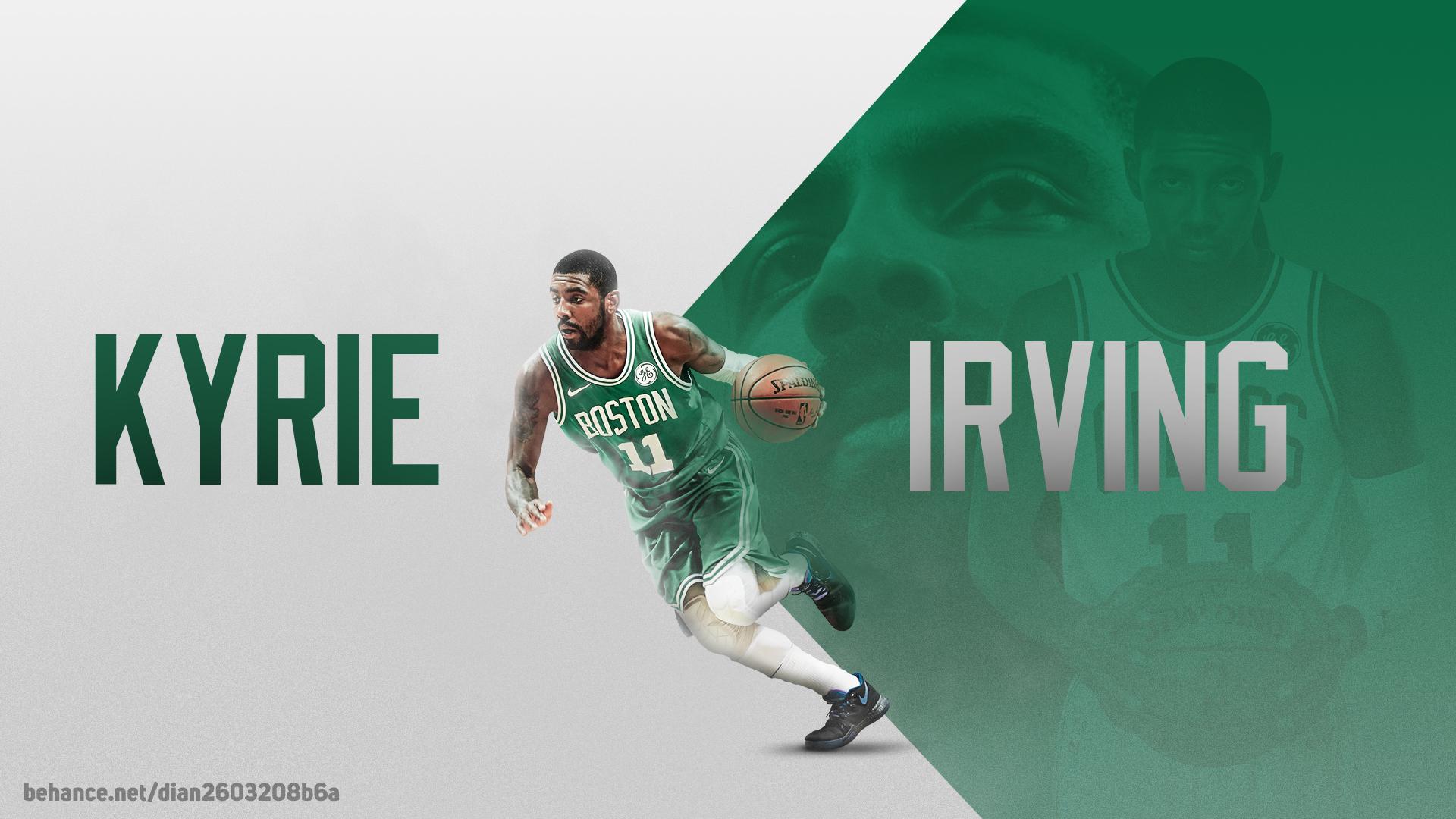 Kyrie Irving Boston Celtics Nba Wallpaper Desktop By Dianjay