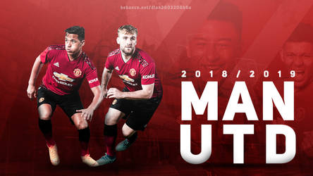 Manchester United 2018/19 Wallpaper Desktop by dianjay