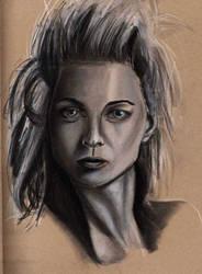 Portrait Sketch by dollparts21