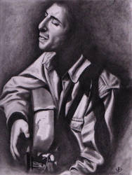 Leonard Cohen by dollparts21