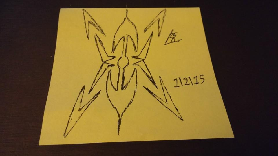 more post-it art by leon2365
