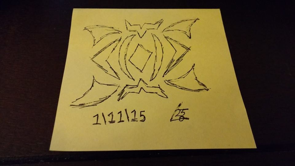 even more post-it art by leon2365
