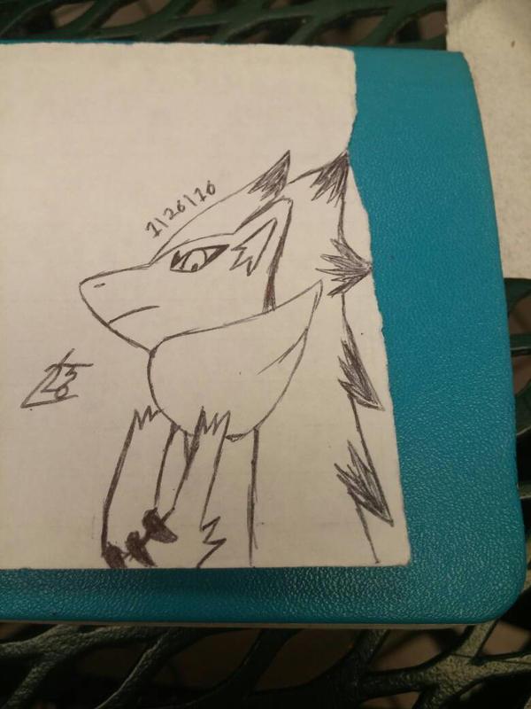 bored zoroark by leon2365