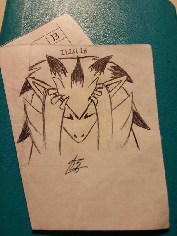 fed up zoroark by leon2365
