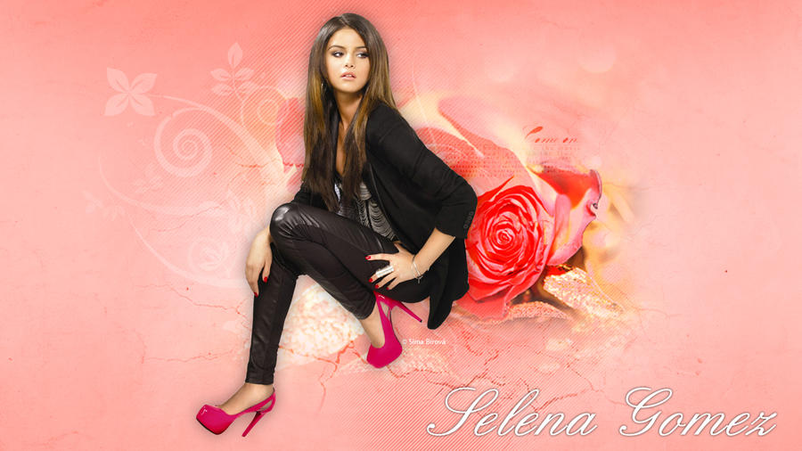 Selena Gomez Wallpaper by SimaBirova on DeviantArt