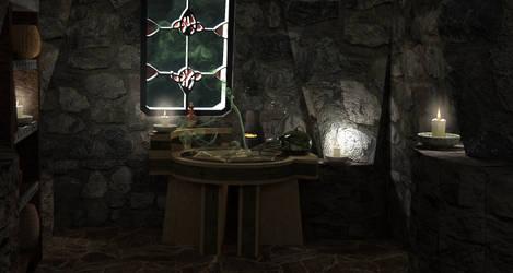 Alchemy Lab by MoonRaccoon13