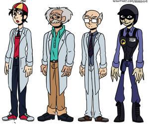 HLVRAI Character lineup pack 1