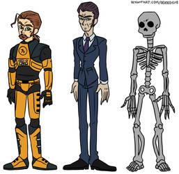HLVRAI Character lineup pack 2