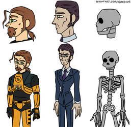HLVRAI Character profile pack 2