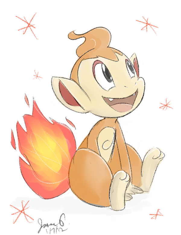 Baby Monferno Pokemon Images | Pokemon Images