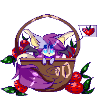 I'm in a chest with strawberries (CHG) by FelyAzeleaBell
