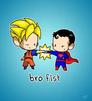 Goku and Superman