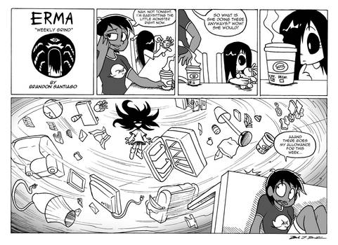 Erma- Weekly Grind by OUTCASTComix